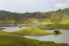 Hills among Lakes in Corvo