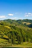 Hills landscape Stock Photo