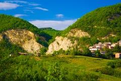 Hills landscape royalty free stock photos