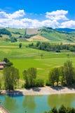Hills landscape Stock Images