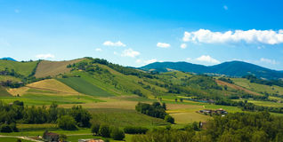 Hills landscape Stock Photography