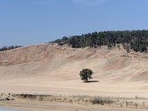 Hills Landscape near Etna volcano Sicily Italy Stock Photos