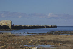 Hills. Landscapes of Kunashir island. Far East stock image