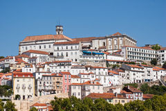 Hills of Lisbon Royalty Free Stock Images
