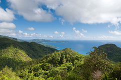 Hills of Mahe Stock Images