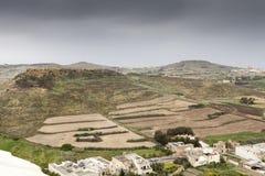 Hills of Malta Stock Image