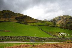 The hills of Martindale Royalty Free Stock Images