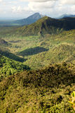 Hills of Mauritius island Royalty Free Stock Photography
