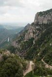 The Hills of Montserrat Stock Photos