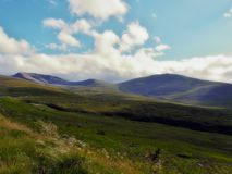 Hills near Ben Nevis,Scotland, West Highlands Royalty Free Stock Photo