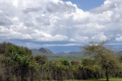 Hills near Lake Nakuru in the Great Rift Valley Stock Images