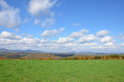 The hills of New Hampshire in fall time Royalty Free Stock Images