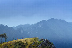 Hills in the North of Thailand Stock Image