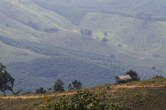 Hills in the North of Thailand Royalty Free Stock Photos