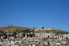 Hills over Fes in Marocco Stock Photos