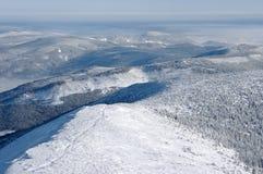 Hills panorama Stock Photography