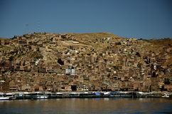 Hills of Puno Stock Photography
