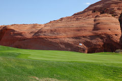 Hills from red sandstone Royalty Free Stock Photos