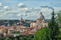 Hills of Rome,Italy Royalty Free Stock Image