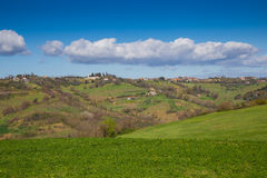 The hills of Sabina.Province of Rieti, Lazio, Italy. Stock Photography