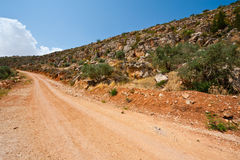 Hills of Samaria Royalty Free Stock Image
