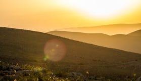 Hills of Samaria, Israel Stock Images