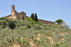 The hills of San Gimignano Stock Image