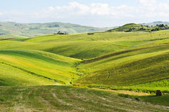 Hills of Sicily Stock Images
