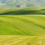 Hills of Sicily Royalty Free Stock Photography