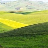 Hills of Sicily Royalty Free Stock Images