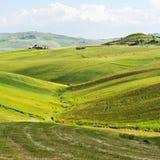 Hills of Sicily Stock Photos