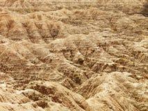 Hills in the South Dakota Badlands Royalty Free Stock Photos