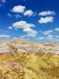 Hills in the South Dakota Badlands Stock Image