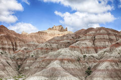 Hills In South Dakota Badlands Royalty Free Stock Image