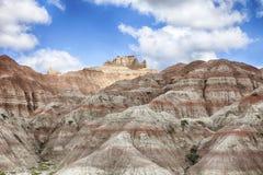 Hills In South Dakota Badlands royalty free stock image