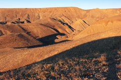 Hills at sunset Royalty Free Stock Photography