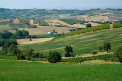The hills of Tortona Stock Image