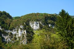 Hills in Trento, Italy Stock Photos