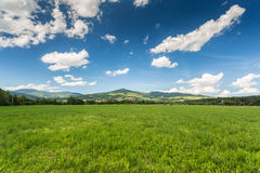 Hills of Tuscany Royalty Free Stock Photos