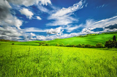 Hills of Tuscany Stock Photos