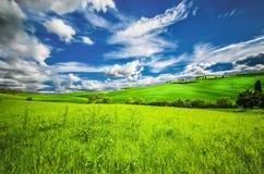Hills of Tuscany Stock Photos