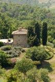 Hills in Tuscany near Artimino Royalty Free Stock Photo