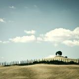 Hills of Tuscany Royalty Free Stock Photos
