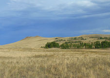 The hills in the Tuva steppe Royalty Free Stock Photos