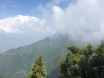 Hills view Mussorie Royalty Free Stock Images