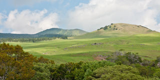 Hills of Waimea Stock Images