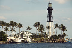 Hillsboro Inlet Lighthouse Royalty Free Stock Image