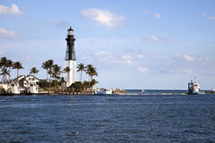 Hillsboro Inlet Lighthouse Stock Image