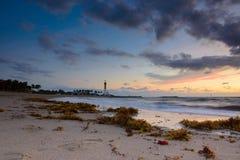 Hillsboro inlet lighthouse royalty free stock photo
