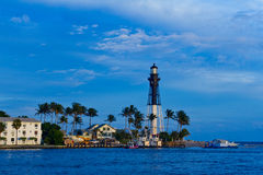 Hillsboro Inlet lighthouse Stock Photos